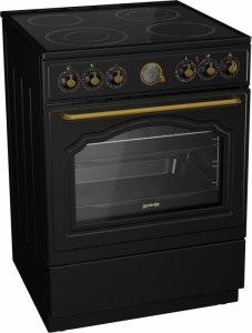 Готварска печка Gorenje EC62CLB, Обем 65 л, Клас А, Матово черно