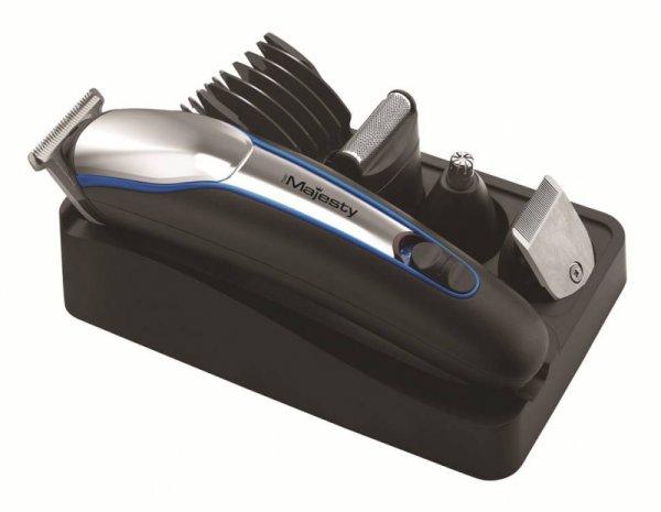 Машинка за подстригване Hair Majesty HM-1021, 5 степени на подстригване, Аксесоари