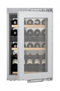 Виноохладител Liebherr EWTdf1653, Клас А, Обем 97л, Сив