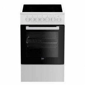 Готварска печка Beko FSM 57100 GW, Обем 55 л, Клас А, Бял