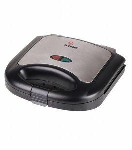 Тостер-сандвич Elekom EK-6061, Мощност 750W, Черен