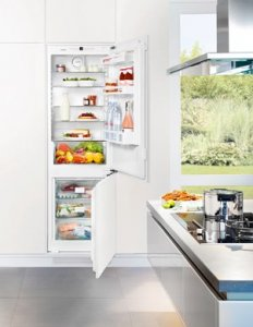 Хладилник с фризер за вграждане  Liebherr ICN3314