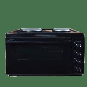 Готварска печка Diplomat Мечта B238E4, Обем 38л, Терморегулатор, Клас А, Черна