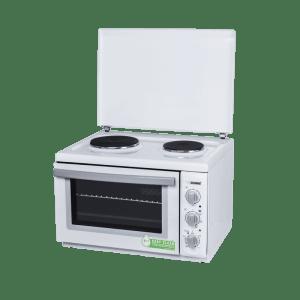 Готварска печка Diplomat DPL-WSK20E, Обем 38 л, Клас А, С капак, Бяла