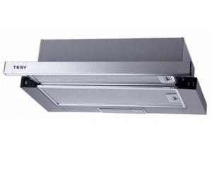 Аспиратор Tesy SL 104 2M 60 SX, 2 мотора, Алуминиеви касетъчни филтри