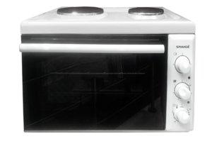 Мини готварска печка Snaige SNG-W382RE ECO,  Енергиен клас А, Бял