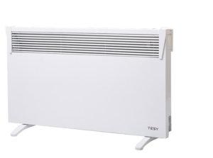 Панелен конвектор Tesy CN 03 100 MIS F, 304043, Подов, Механично управление, Мощност 1000W, Бял