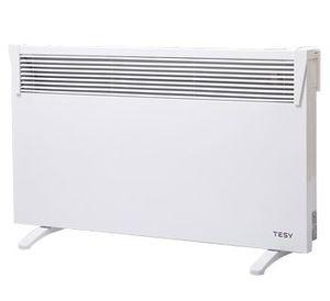 Панелен конвектор Tesy CN 03 250 MIS F, 304046, Подов, Механично управление, Мощност 2500W, Бял
