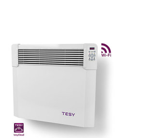 Панелен конвектор Tesy CN 04 050 EIS CLOUD W, 304192, Управление през интернет, Mощност 500 W, Бял