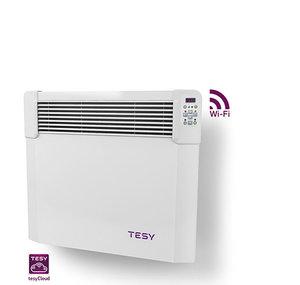 Панелен конвектор Tesy CN 04 050 EIS CLOUD W, 304192, Управление през интернет, Mощност 500 W, Бял