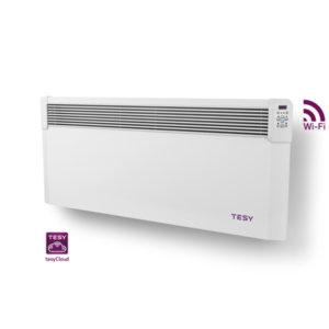 Панелен конвектор Tesy  CN 04 250 EIS CLOUD W, 304196, Управление през интернет, Mощност 2500 W, Бял