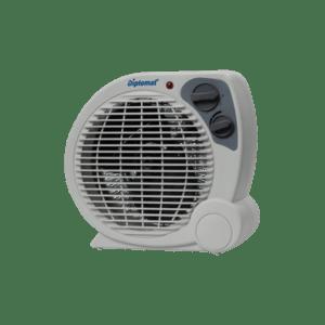Вертикална вентилаторна печка Diplomat DPL V 3012 T, Мощност 2000W, Сива