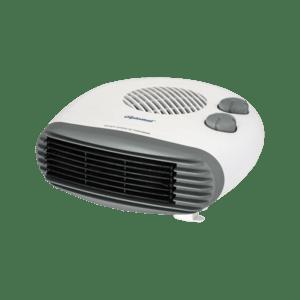 Хоризонтална вентилаторна печка Diplomat DPL HT 8120, Мощност 2000W, Бяла