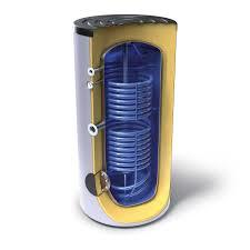 Eмайлиран бойлер с двойна нискотемпературна серпентина Tesy EV 2X9/2X17 S2 1000 101 C, 304303, Енергиен клас C, Обем 1000 L