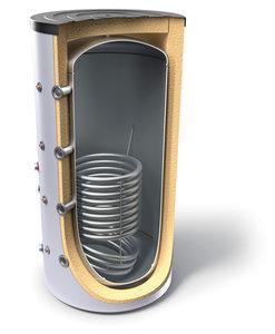 Буферeн съд за отоплителна инсталация с една серпентина Tesy V 12S 300 65 F41 P4, 302173, Енергиен клас B, Обем 300 L