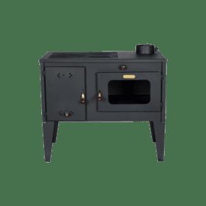 Готварска печка на твърдо гориво Diplomat Тангра, фурна, Мощност 7,5 kW