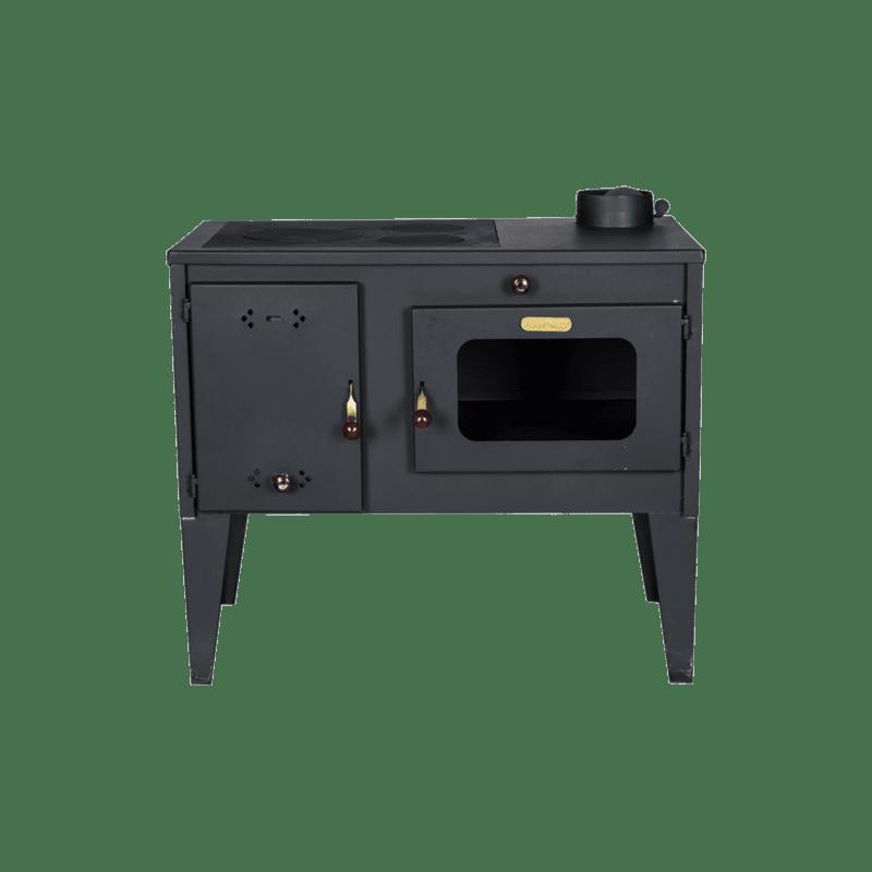 Готварска печка на твърдо гориво Diplomat Тангра, фурна, Мощност 10 kW