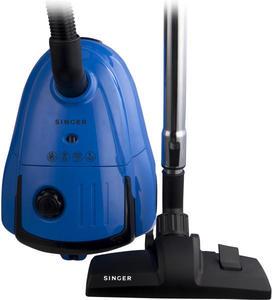 Прахосмукачка Singer VC-2590, Мощност 700W, Филтър HEPA H12, Синя