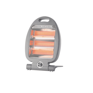Компактен кварцов отоплител Rohnson R-8018, Мощност 800 W, 2 топлинни настройки