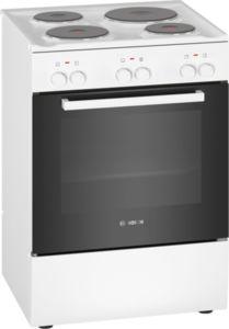 Свободностояща готварска печка Bosch HQA050020, Енергиен клас А, Бяла