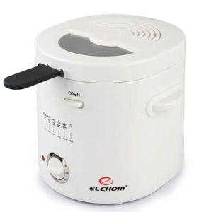 Фритюрник Elekom EK-10301 , Мощност 1000 W , бял