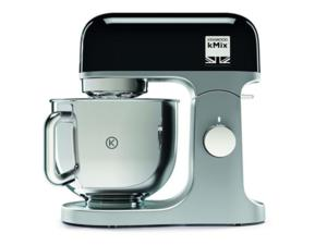 Кухненски робот Kenwood KMX750BK, 1000W, 6 скорости, Купа от неръждаема стомана 5 л, Аксесоар за тесто, Черен
