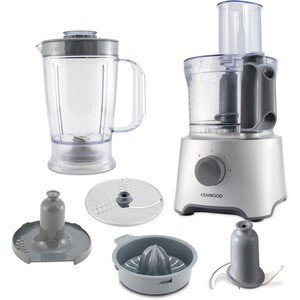 Кухненски робот KENWOOD FDP 302 SI, 412013, Moщност 800 W, 2 скорости + пулс, Сив