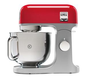 Кухненски миксер Kenwood КMX 750 RD, 41210, Moщност 1000 W,  Капацитет 5.0 л., Червен