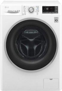 Пералня със Сушилня LG F2J7HM1W, 7 кг за пране/4кг за сушене , 1200 об/мин, Клас B, Бяла