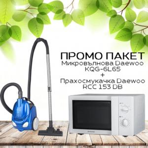 ПРОМО ПАКЕТ | Daewoo KQG-6L65 + Daewoo RCC 153 DB