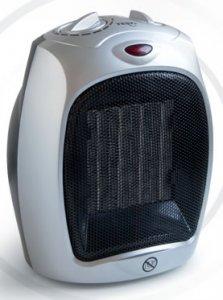 Вентилаторна печка Tesy HL 232 V PTC, Мощност 1800 W, Сива