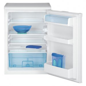 Хладилник с една врата Beko TSE 1402, Обем 130л, Клас А+, H 84см, Бял