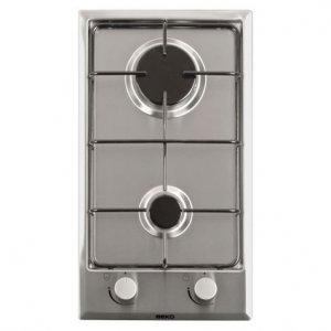 Плот за вграждане Beko HDCG 32220 FX, инокс, 2 нагревателни зони