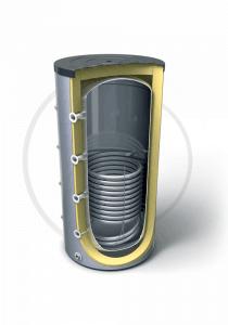 Буферeн съд за отоплителна инсталация с една серпентина  V 15S 500 75 F42 P5, 300624, Енергиен клас C, Обем 500 L