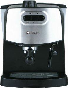 Кафемашина Rohnson R 967, Еспресо, 850 W, 15 бара, Черна