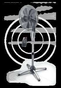 Вентилатор Tesy FS40SCGTR06,55 W, Диаметър 40 см, Дистанционно управление