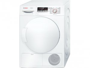 Сушилня Bosch WTB84200BY, Обем 7 кг, Клас B, Бял