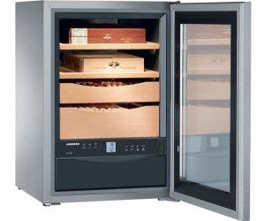 Хладилник за съхранение на пури Liebherr ZKes453, обем 43 л, защита от деца