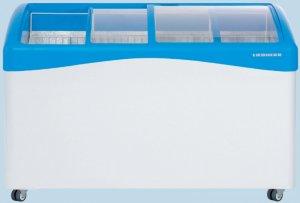 Хоризонтален фризер Liebherr GTI 5053, обем 513 л, 3 кошници