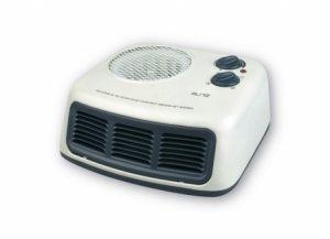 Вентилаторна печка Elite AH 1650, Мощност 2000 W, Термостат, Бяла