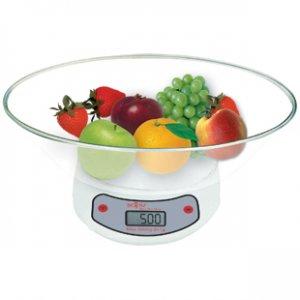 Кухненска везна Sapir SP 1651 C1, капацитет 5 кг, бял