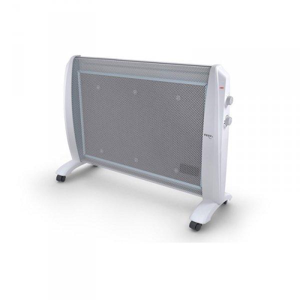 Подов лъчист конвектор Tesy MC 2012, 420032, MICA Нагревател, Максимална мощност 2000 W, Бял