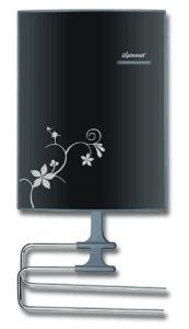 Вентилаторна печка за баня Diplomat DPL-VTB9010B, 2000 W, 2 степени на мощност