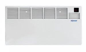 Стенен конвектор Diplomat DPLCH2000B, 2000 W, LED дисплей