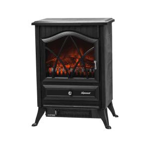Електрическа камина Diplomat DPL-EFP2413, 2000 W, Ефект на истински пламъци, Терморегулатор