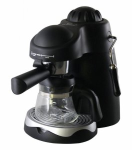 Кафемашина шварц Elekom EK 662, 800 W, 4 чаши, Черна