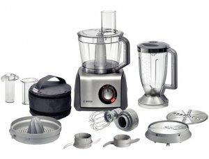 Кухненски робот Bosch MCM68840, мощност 1250 W, обем купа 3.9 л