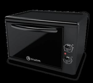 Мини готварска печка Eldom 204VN, обем 38 л, Клас А, Черна