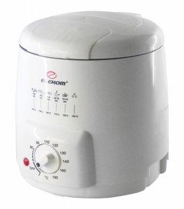 Фритюрник Elekom EK 960 , Мощност 840 W , бял
