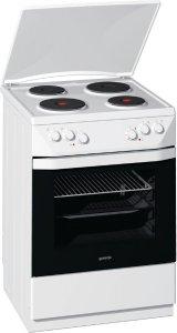 Готварска печка Gorenje E67106BW, Обем 65 л, Клас А+, Бял